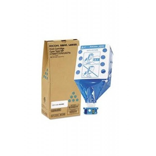 Ricoh 841289, Toner Cartridge Cyan, MP C6000, MP C7500- Original