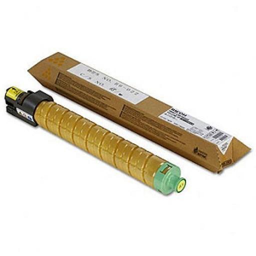 Ricoh 841850, Toner Cartridge Yellow, MP C4503, C4504, C5503, C6003, C6004- Original