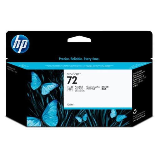 HP C9370A, No.72, Ink Cartridge HC Photo Black, T790, T1100, T1120, T1200- Original