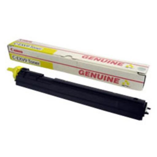 Canon 8643A002AA, Toner Cartridge Yellow, iR C2570, C3100, C3170- Original