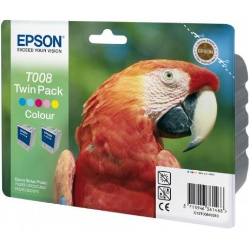 Epson T008 Ink Cartridge - 5 Colour Multipack Genuine