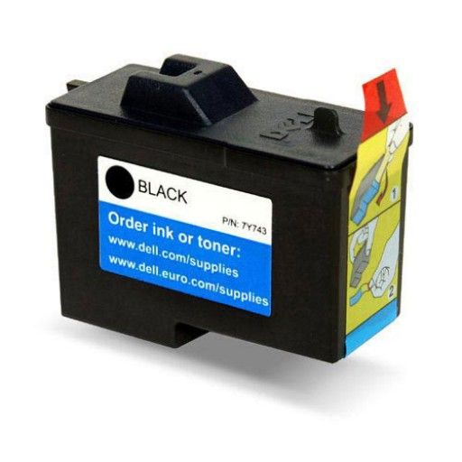 Dell 7Y743 592-10043 Ink Cartridge Black - Genuine