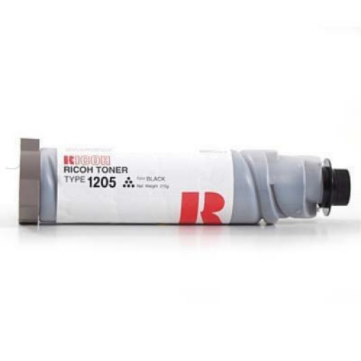 Ricoh 885067 Toner Cartridge Black, Type 1205, FT3613, FT3813, FT4015, FT4018- Original
