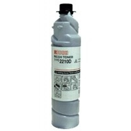 Ricoh 885229 Toner Cartridge Black, Type 2210D, AP220, AP270 - Genuine