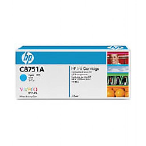 HP C8751A, Ink Cartridge Cyan, CM8050, CM8060- Original