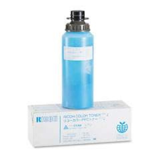 Ricoh 887816 Toner Cartridge Cyan, Type J, NC5006, NC5106, NC5206, NC8115 - Genuine