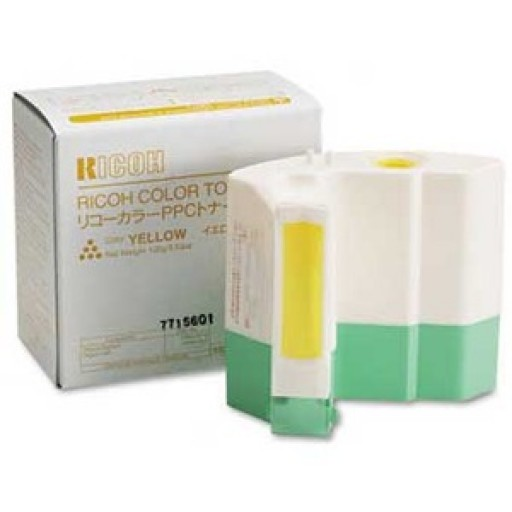 Ricoh 887847 Toner Cartridge Yellow, Type H, 2003, 2103, 2203 - Genuine