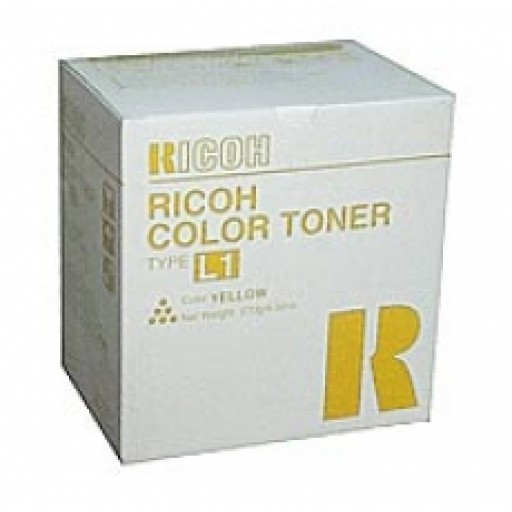 Ricoh 887896 Toner Cartridge Yellow, Type L1, AC6010, AC6110, AC6513 - Genuine