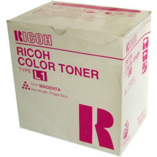 Ricoh 887902 Toner Cartridge Magenta, Type L1, AC6010, AC6110, AC6513 - Genuine