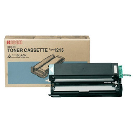 Ricoh 888078 Toner Cartridge Black, Type 1215, FT1008, FT1208  - Genuine
