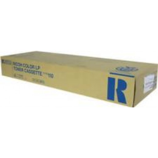 Ricoh 888118 Toner Cartridge Cyan, Type 110, CL5000 - Genuine