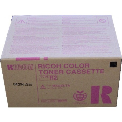 Ricoh 888346 Toner Cartridge Magenta, Type R2, 3228C, 3235C, 3245C - Genuine