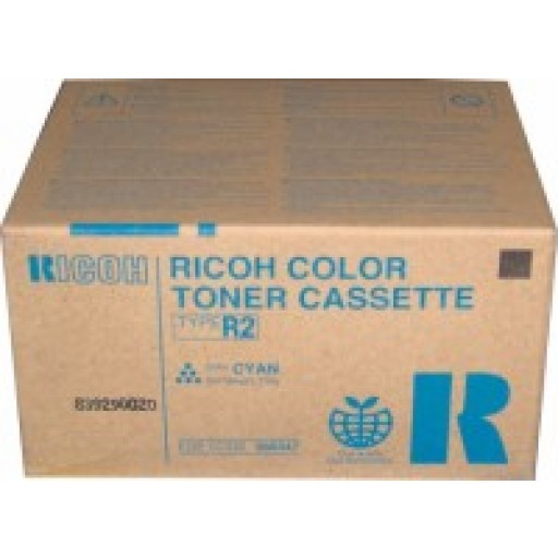 Ricoh 888347 Toner Cartridge Cyan, Type R2, 3228C, 3235C, 3245C - Genuine