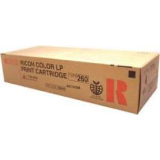 Ricoh 888446, Toner Cartridge Black, Type 260, CL7200, CL7300- Original