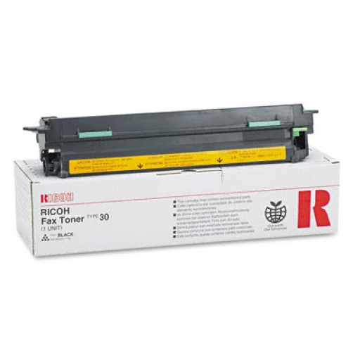Ricoh 889604 Toner Cartridge Black, Type 30, 2500L, 3000L, 4500L- Original