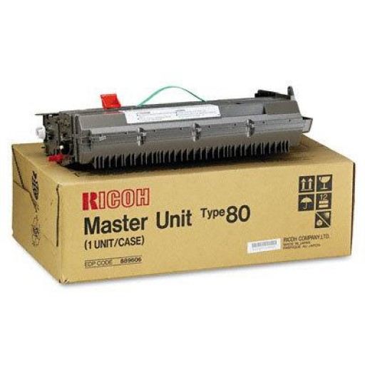 Ricoh 889606 Drum Master Unit, Type 80, MV 715 - Genuine