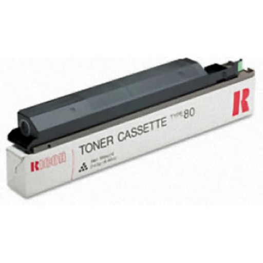 Ricoh 889744 Toner Cartridge Black, Type 80, MV715 - Genuine
