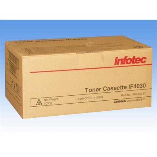 Infotec IF4030, IF4040 Toner Cartridge - Black Genuine (89040232)