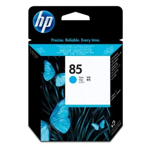 HP C9420A No.85 Ink Cartridge - Cyan Printhead Genuine