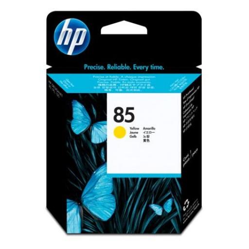 HP C9422A No.85 Ink Cartridge - Yellow Printhead Genuine