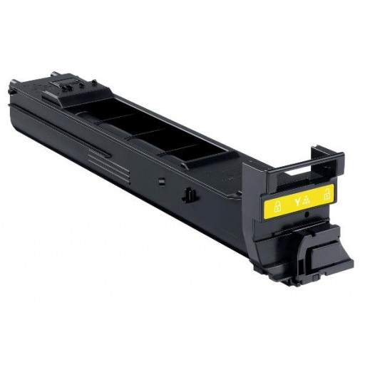 Konica Minolta A0DK252, Toner Cartridge HC Yellow, 4650EN, 4690MF, 4695MF- Original