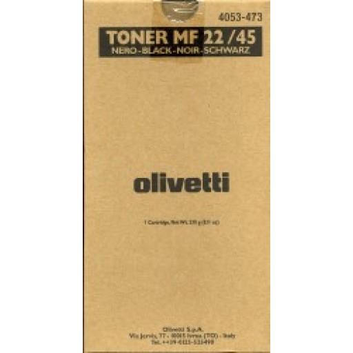 Olivetti, B0480, Toner Cartridge - Black, MF22, MF45- Original
