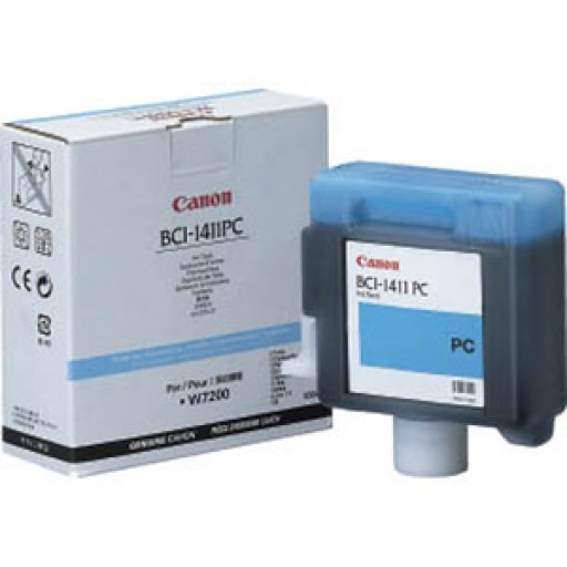 Canon W7200, W8200 BCI1411PC Ink Cartridge - Photo Cyan Genuine (7578A001AA)