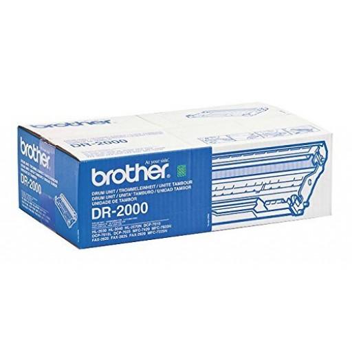 Brother DR2000, Imaging Drum Unit- Black, DCP7010, 7020, HL2030, 2040, MFC7225, 7420- Original