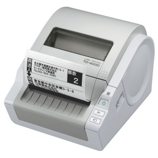 Brother TD-4000 Thermal Desktop and Label Printer