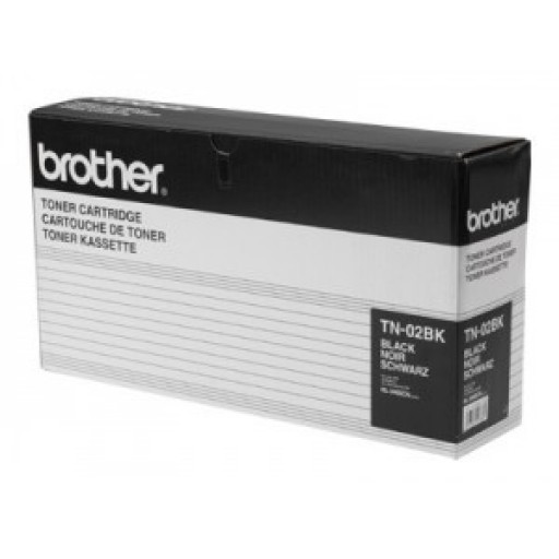 Brother TN-02BK, Toner Cartridge Black, HL-3400CN, HL-3450CN- Original