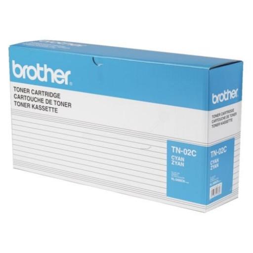 Brother TN-02C, Toner Cartridge Cyan, HL-3400CN, HL-3450CN- Original