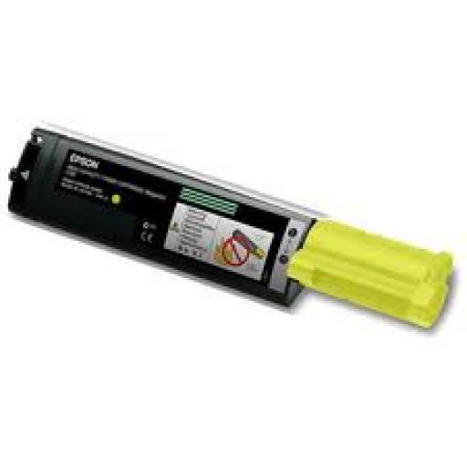 Epson C13S050187, Toner Cartridge HC Yellow, C1100, CX11N- Original