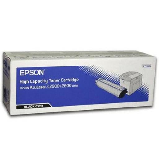 Epson C13S050229 Toner Cartridge - Black Genuine