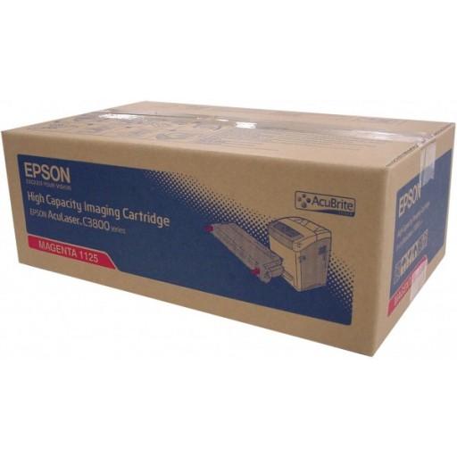 Epson C13S051125, Toner Cartridge Magenta, AcuLaser C3800- Original