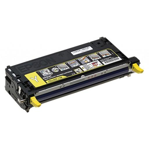 Epson C13S051158, Toner Cartridge- HC Yellow, C2800- Original