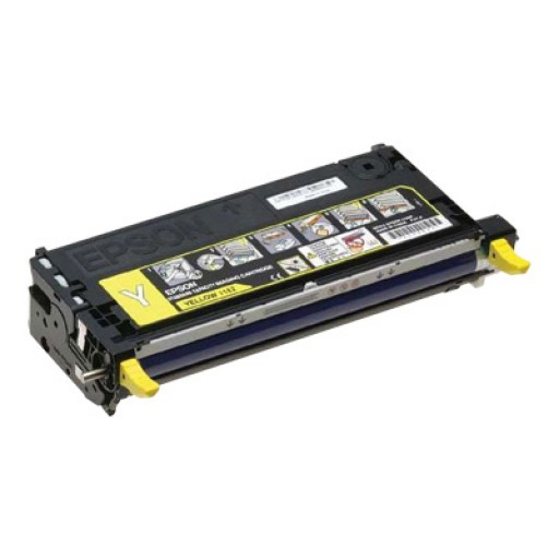 Epson C13S051162, Toner Cartridge- Yellow, C2800- Original
