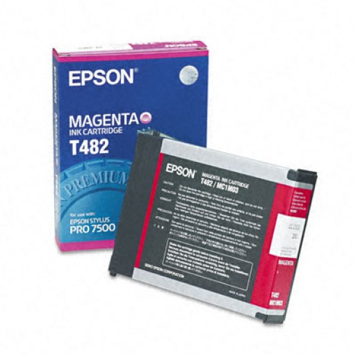 Epson T482 Ink Cartridge - Magenta Genuine