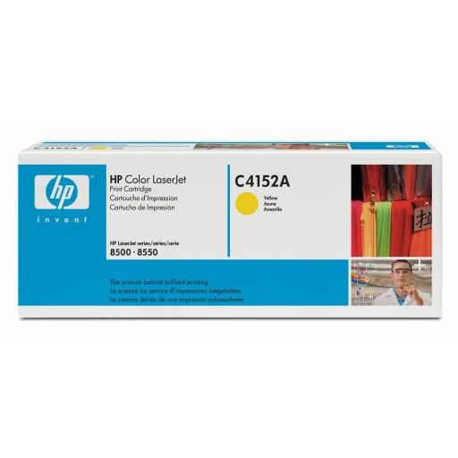 HP C4152A, Toner Cartridge Yellow, LaserJet 8500- Original