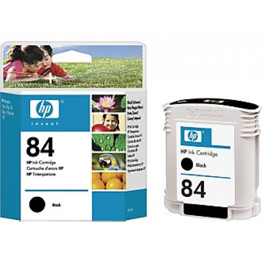 HP C5016A No.84 Ink Cartridge - HC Black Genuine
