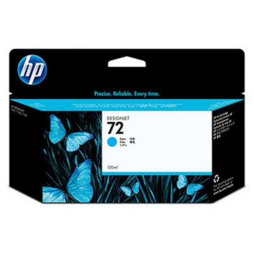 HP C9371A, No.72, Ink Cartridge HC Cyan, T790, T1100, T1120, T1200- Original