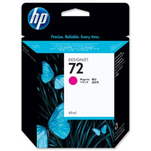 HP C9399A, No.72, Ink Cartridge Magenta, T1100, T1120, T1200- Original