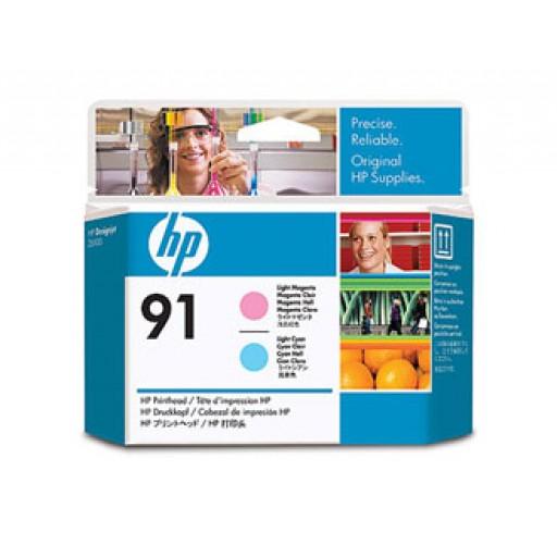 HP C9462A No.91 Light Cyan & Light Magenta Printhead Genuine
