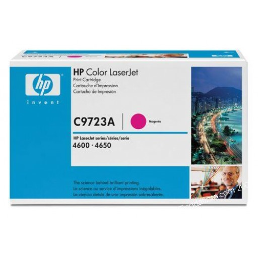 HP C9723A, Toner Cartridge- Magenta, 4600, 4610, 4650- Original