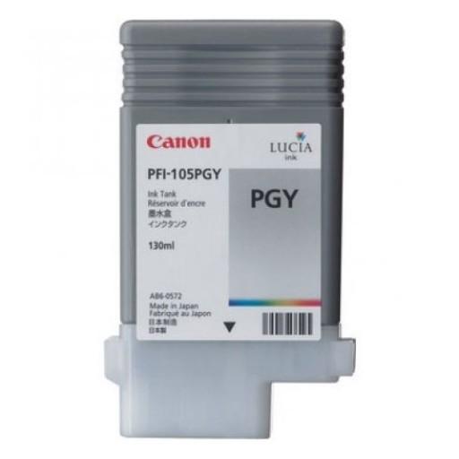 Canon 3010B005AA, PFI-105PGY Ink Cartridge, iPF6300, iPF6350 - Photo Grey Genuine