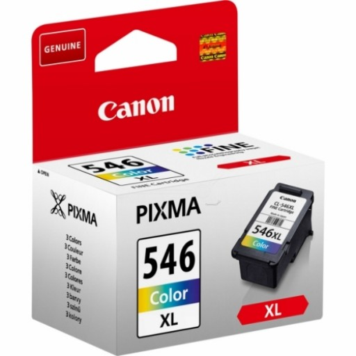 Canon 8288B001, HC Ink Cartridge Colour, CLI-546XL, Pixma MG2250, MG2450, MG2550- Original