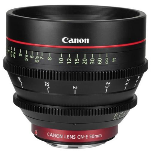 Canon CN-E50mm T1.3 LF Lens
