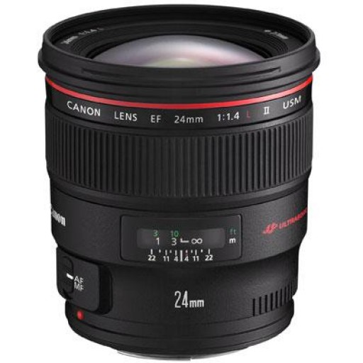 Canon Ef24mm f/1.4 L II Usm Lens
