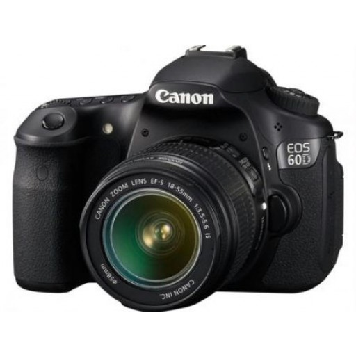 Canon EOS 60D Digital SLR with 18-55mm Lens