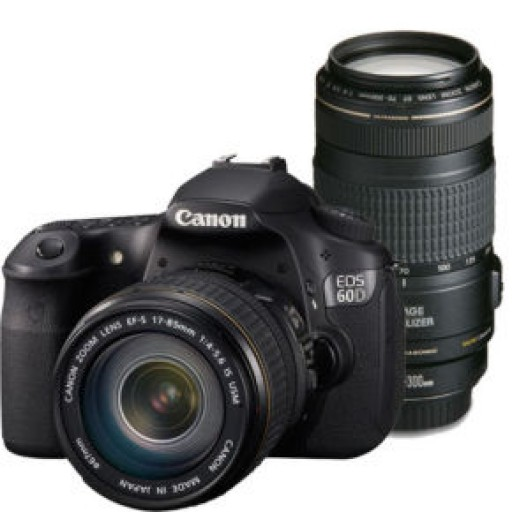 Canon EOS 650D Digital SLR Camera Twin Kit