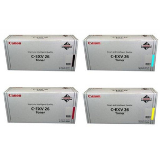 Canon iRC1021, iRC1028 CEXV26 Toner Cartridge - Value Pack
